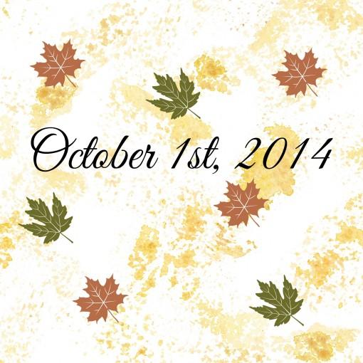 October yay