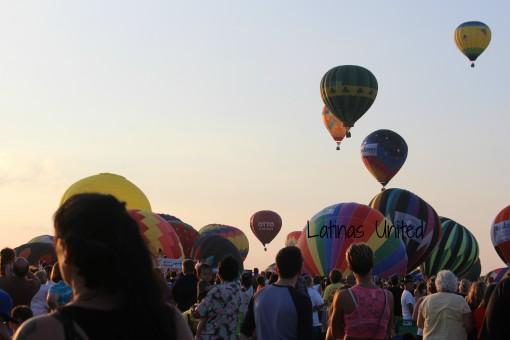 balloon take off LU